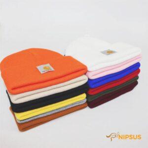Hip hop woolen cap