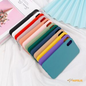 Silicone Solid Color Case